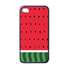 Watermelon! Apple Iphone 4 Case (black) by ContestDesigns