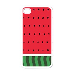 Watermelon! Apple Iphone 4 Case (white) by ContestDesigns