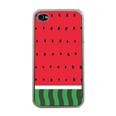 Watermelon! Apple Iphone 4 Case (clear) by ContestDesigns