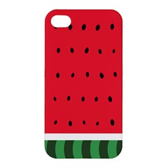 Watermelon! Apple Iphone 4/4s Premium Hardshell Case by ContestDesigns