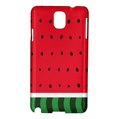 Watermelon! Samsung Galaxy Note 3 N9005 Hardshell Case by ContestDesigns