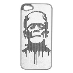 Monster Apple Iphone 5 Case (silver) by Contest1732468