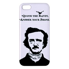 Qouth The Raven   Answer Your Phone  Iphone 5s Premium Hardshell Case
