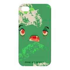 Feed Me Brains    Er, I Mean Texts! Apple Iphone 4/4s Hardshell Case