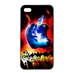 Its An Apple World Apple Iphone 4/4s Seamless Case (black)