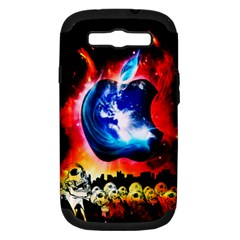 Its An Apple World Samsung Galaxy S Iii Hardshell Case (pc+silicone) by TheTalkingDead