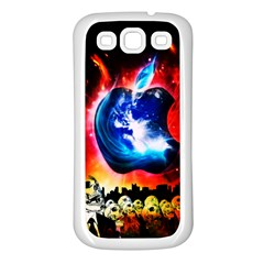 Its An Apple World Samsung Galaxy S3 Back Case (white)