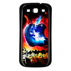 Its An Apple World Samsung Galaxy S3 Back Case (black)