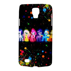 Ponies Samsung Galaxy S4 Active (i9295) Hardshell Case by TheTalkingDead