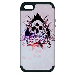 Ace Of Spades Apple Iphone 5 Hardshell Case (pc+silicone)