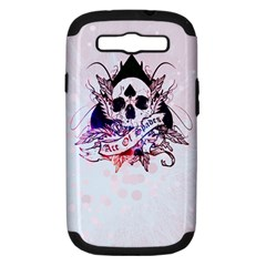 Ace Of Spades Samsung Galaxy S Iii Hardshell Case (pc+silicone) by TheTalkingDead