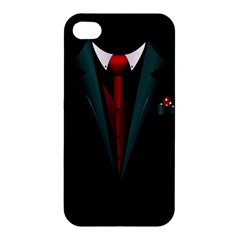 All Dressed Up And No One To Call Apple Iphone 4/4s Premium Hardshell Case by TheTalkingDead