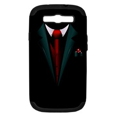 All Dressed Up And No One To Call Samsung Galaxy S Iii Hardshell Case (pc+silicone) by TheTalkingDead