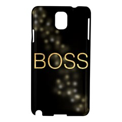 Boss Samsung Galaxy Note 3 N9005 Hardshell Case