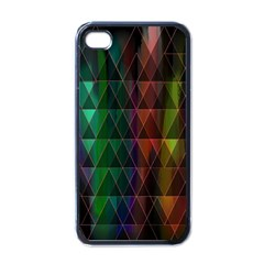 Color Apple Iphone 4 Case (black)