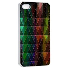 Color Apple Iphone 4/4s Seamless Case (white) by ILANA