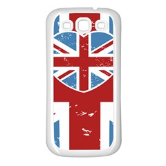Union Love Vintage Case Design Samsung Galaxy S3 Back Case (white) by Contest1778683
