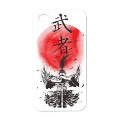 The Warrior Apple Iphone 4 Case (white) by DesignsbyReg2