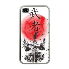 The Warrior Apple Iphone 4 Case (clear) by DesignsbyReg2