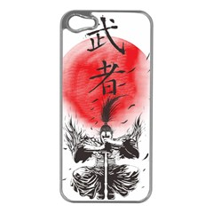 The Warrior Apple Iphone 5 Case (silver) by DesignsbyReg2
