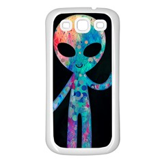 Greetings From Your Phone Samsung Galaxy S3 Back Case (white) by TheTalkingDead