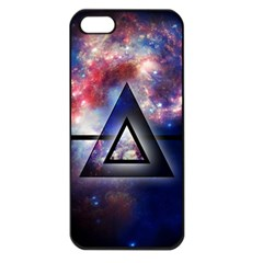 Galaxy Triangle Apple Iphone 5 Seamless Case (black)