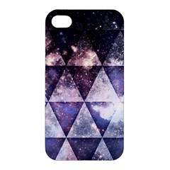 Triangle Tiles Apple Iphone 4/4s Premium Hardshell Case by Contest1775858