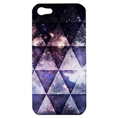 Triangle Tiles Apple Iphone 5 Hardshell Case by Contest1775858