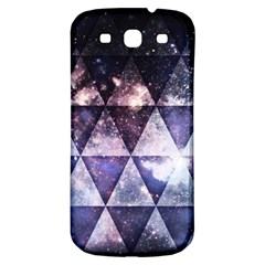 Triangle Tiles Samsung Galaxy S3 S Iii Classic Hardshell Back Case