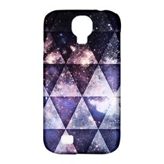 Triangle Tiles Samsung Galaxy S4 Classic Hardshell Case (pc+silicone) by Contest1775858