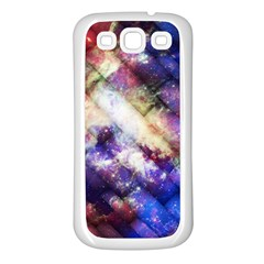 Universe Tiles Samsung Galaxy S3 Back Case (white)