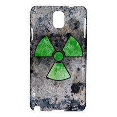 Nuke Warning Samsung Galaxy Note 3 N9005 Hardshell Case