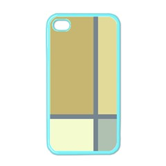 Minimalist Art Apple Iphone 4 Case (color) by Contest1775858