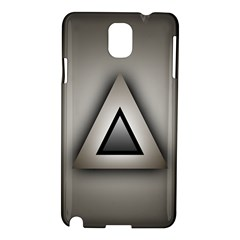 Metalic Triangle Samsung Galaxy Note 3 N9005 Hardshell Case