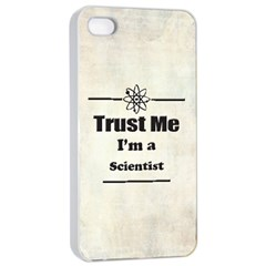 Trust Me I m A Scientist Apple Iphone 4/4s Seamless Case (white)
