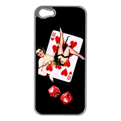 Lady Luck Apple Iphone 5 Case (silver)
