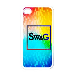 Swag (color) Apple Iphone 4 Case (white)
