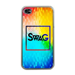 Swag (color) Apple Iphone 4 Case (clear)