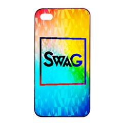 Swag (color) Apple Iphone 4/4s Seamless Case (black)