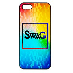Swag (color) Apple Iphone 5 Seamless Case (black)