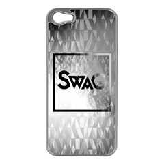 Swag (b&w) Apple Iphone 5 Case (silver)