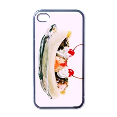 Banana Split Apple Iphone 4 Case (black)