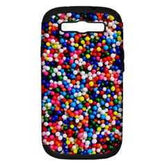 Sprinkles Samsung Galaxy S Iii Hardshell Case (pc+silicone) by TheTalkingDead
