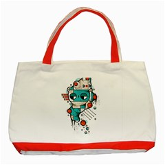 Muscle Cat Classic Tote Bag (red)
