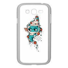 Muscle Cat Samsung Galaxy Grand Duos I9082 Case (white)