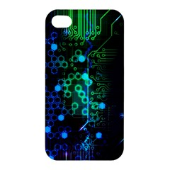 Circuit Board 2 0 Apple Iphone 4/4s Hardshell Case