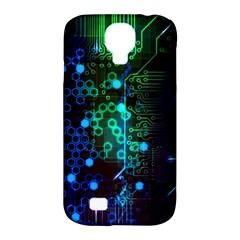 Circuit Board 2 0 Samsung Galaxy S4 Classic Hardshell Case (pc+silicone)