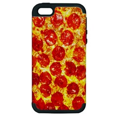 Pizza Apple Iphone 5 Hardshell Case (pc+silicone)