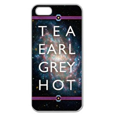 Tea, Earl Grey, Hot Apple Seamless Iphone 5 Case (clear)