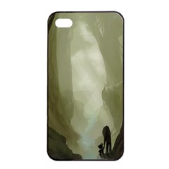 Fearless Apple Iphone 4/4s Seamless Case (black) by RachelIsaacs
